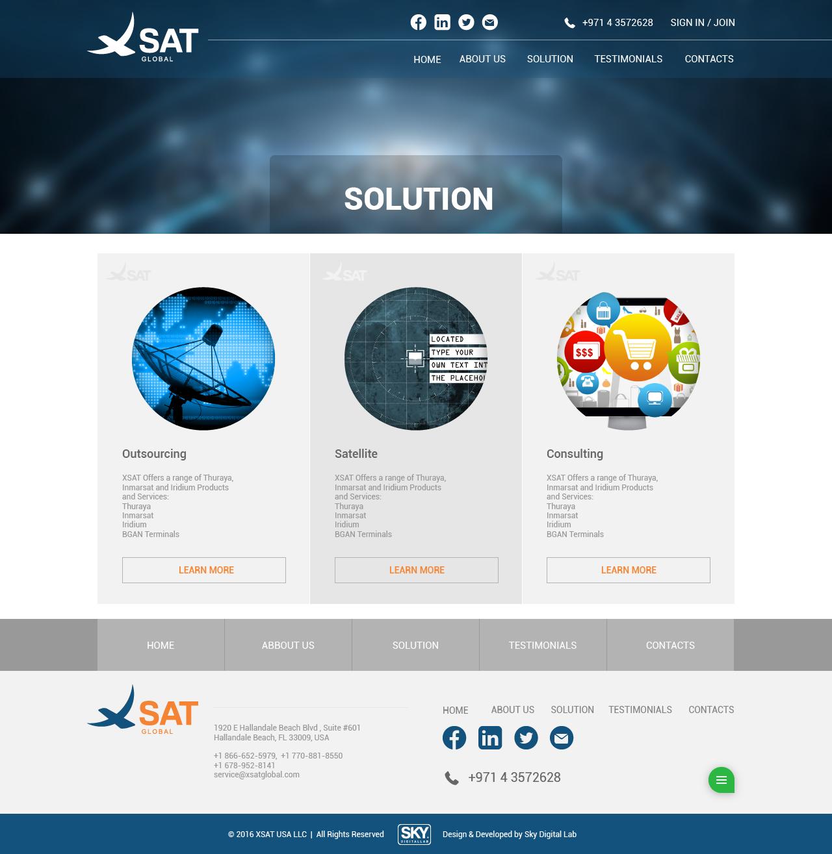 X-sat project